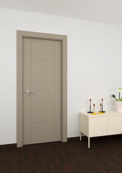 Puerta aluminio imitacion madera roble blanco