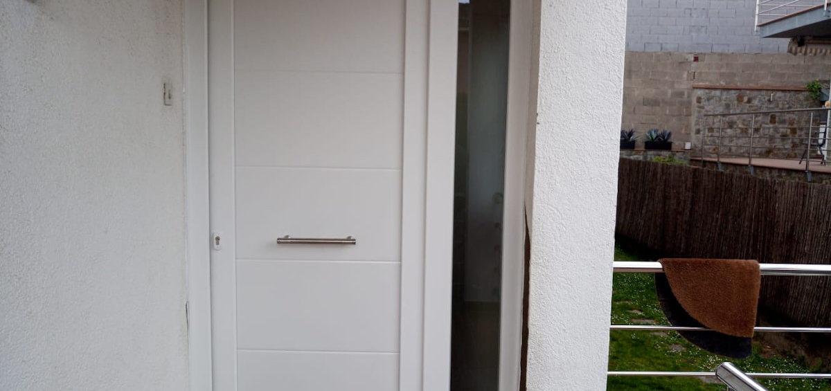 Porta PVC blanc
