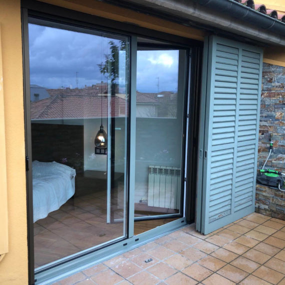 Balconera PVC bicolor